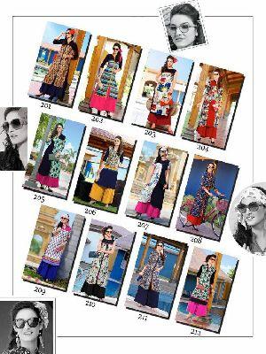 Printed Ladies Kurtis