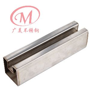 Stainless Steel Fluted Square Tubes