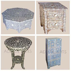 Camel Bone Mop Inlay Furniture Handicraft