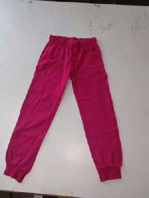 Kids Cotton Track Pants