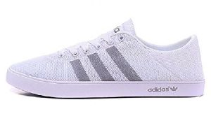 Mens Adidas Neo White Shoes