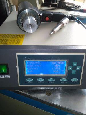 ultrasonic cooler hand  gun/ ultrasonic hand held  plastic welding gun