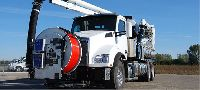 The Vactor 2100 Plus Water Recycling System