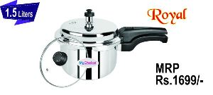 1.5 Liter Royal Stainless Steel Pressure Cooker