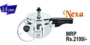 2.5 Liter Nexa Stainless Steel Pressure Cooker
