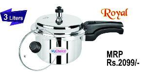 3 Liter Royal Stainless Steel Pressure Cooker