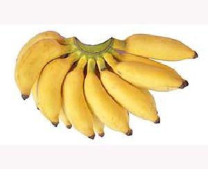 Fresh Poovan Yellow Banana