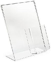 Acrylic Slant Back Easel Frames
