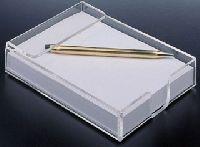 Clear Acrylic Memo Pad Holders