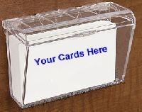 Outdoor Business Card Holders