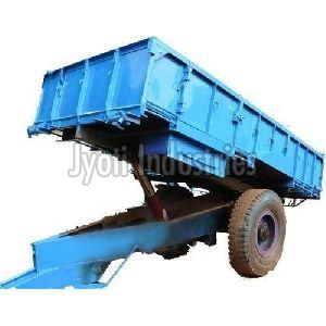 1 Axle Iron Tractor Trolley