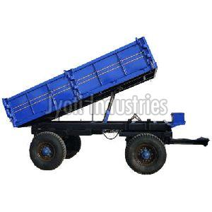 2 Axle Iron Tractor Trolley