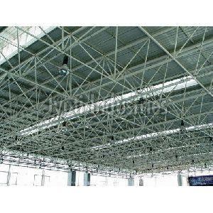Heavy Steel Space Frame Structure Fabrication Services