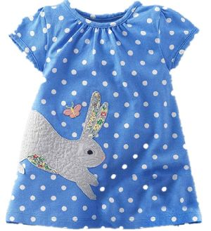 Fancy Dotted Baby Dress