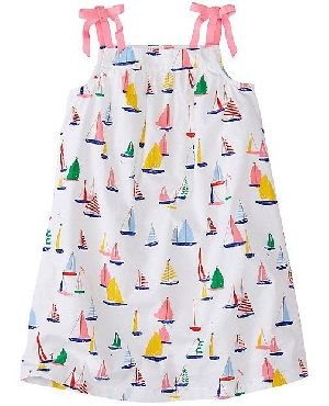 Printed Summer Wear Baby Dress