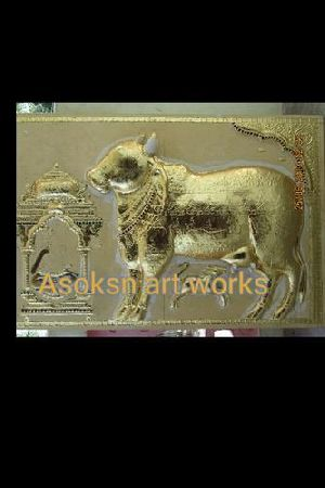 Lord Nandi Tanjore Paintings