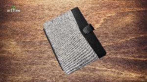 Khadi Jute & Pure Leather Ipad Covers
