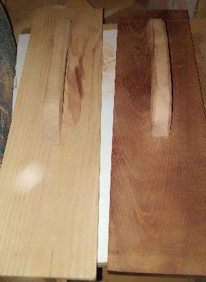 Wood trowel