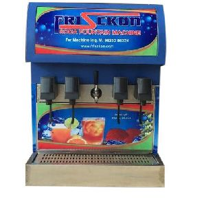 4+1 Valve Soda Fountain Machine