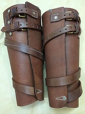 Wwi Brown Leather Leggings