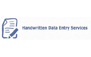 Handwritten Data Entry Services