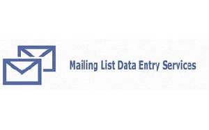 Mailing List Data Entry Services