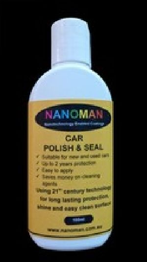 Car Polish And Seal