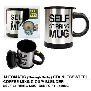 Automatic Stainless Steel Coffee Mixing Cup 350ml