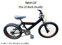 20 Inch Dually Kids Bike