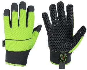 Mechanical Gloves in Synthetic Leather/ Winter Mechanic Gloves / Safety Gloves