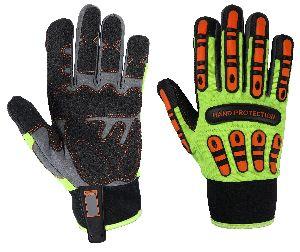 Cut 5 Gloves / Cut 5 TPR Mechanic Gloves / Impact Gloves / Non-Slip Gloves