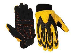 Impact Protection Mechanic Gloves / Anti Vibration Gloves / Mechanic Gloves for Pneumatic tools