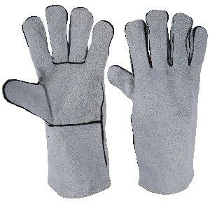 Welding Gloves in Cowhide Split Leather / Working Gloves/Welding Gloves