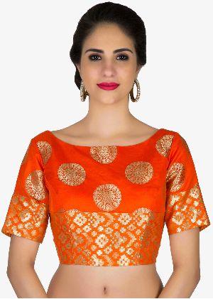 Readymade Silk Saree Blouse