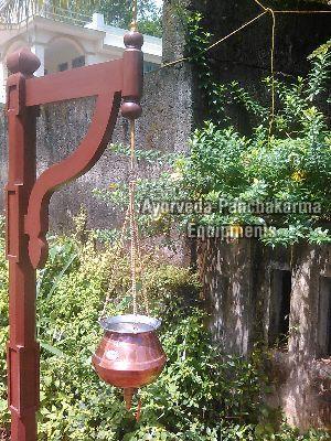 Copper Shirodhara Pot