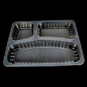 Plastic Tray & Spoon