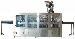 Glass Bottle Washing Filling And Capping Machine
