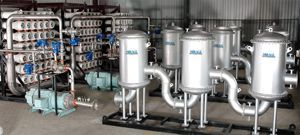 Industrial Water Desalination System