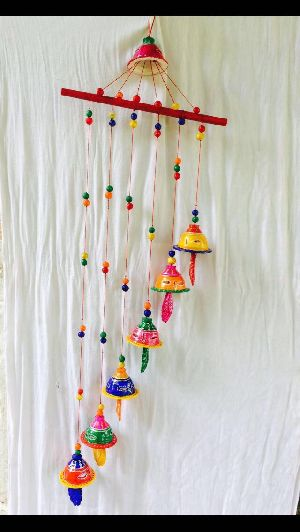 Hanging Clay Wind Chime