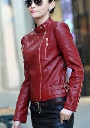 Girls Leather Jacket 02