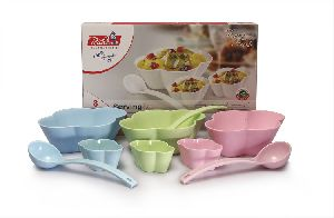 Plastic Pudding Set
