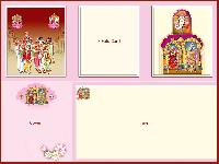 Royal Thirupathi Wedding Card