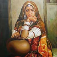 Cloth Painting