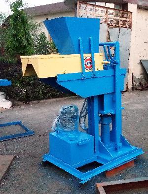 Hydraulic Interlocking Block Machine