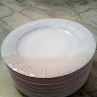 White Paper Plates