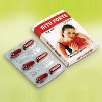 Ritu Forte Herbal Menstrual Pain Relief Capsules