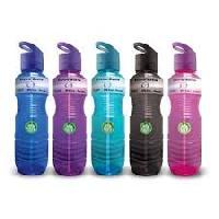 colored pet bottles