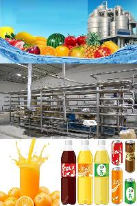 fruit juice making plant