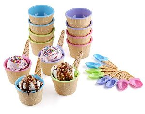 Ice Cream Bowl Set
