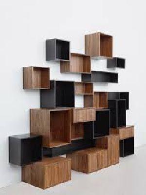 Wooden Wall Racks